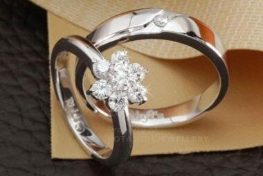 jual cincin nikah emas putih
